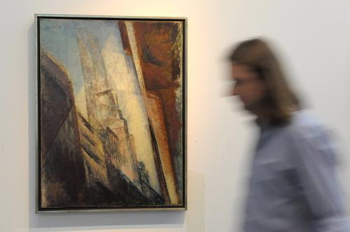 Wystawa Lyonela Feiningera naManhattanie