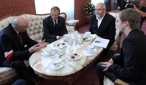 """Premier spotkał się z twórcami filmu """"Miasto"""""""