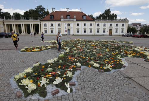 Białystok: powstaje mapa Azerbejdżanu z 1,5 tony warzyw i owoców