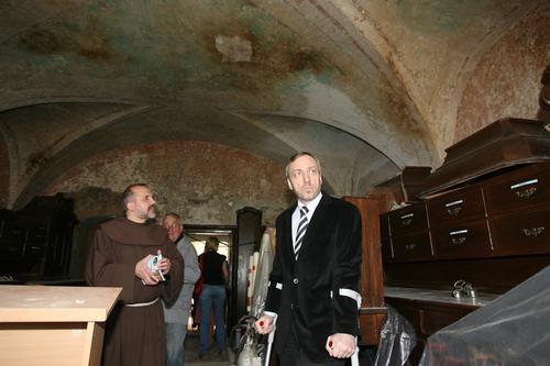 Minister kultury przekaże 3 mln zł na odnowę klasztoru w Alwerni