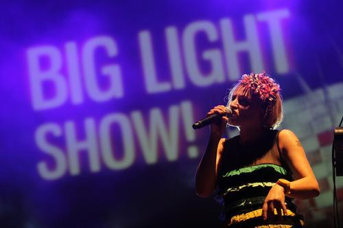 Gwiazdy zagrały na Big Light Show