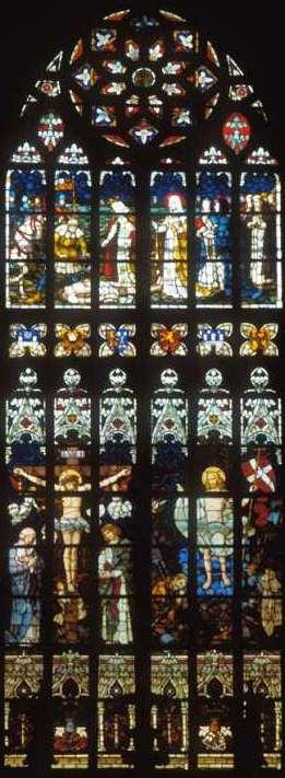 Witraże protestanckiego kościoła w Legnicy