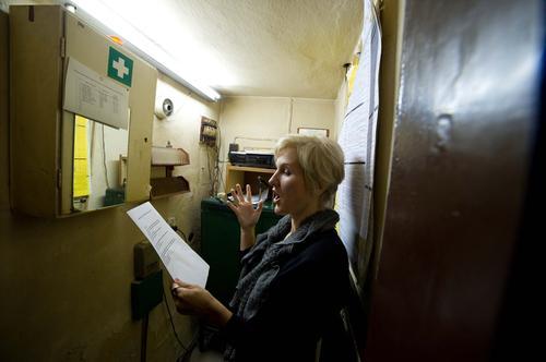 Łódź: operowa artystka śpiewała rozkład jazdy pociągów