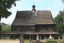 Lipnica – kościół świętego Leonarda.