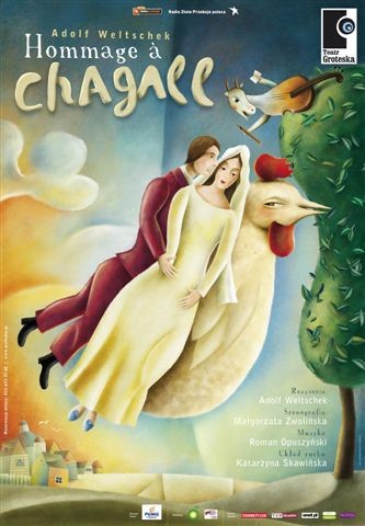 HOMMAGE  A CHAGALL