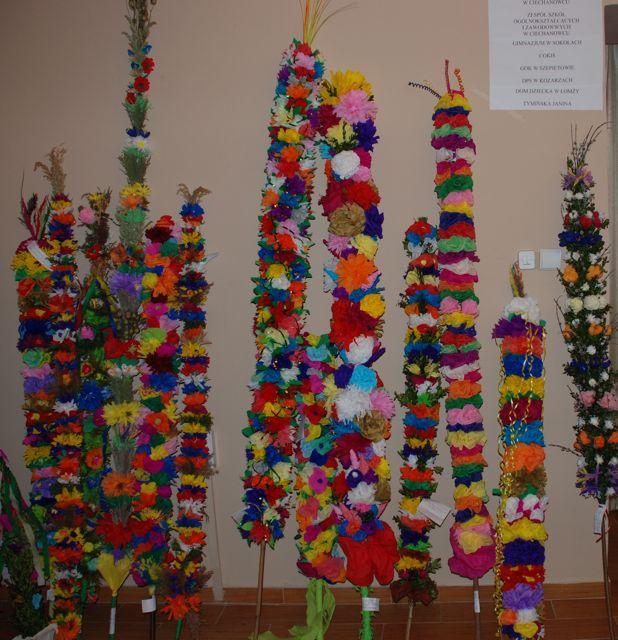 Konkurs palm wielkanocnych w Ciechanowcu 2008