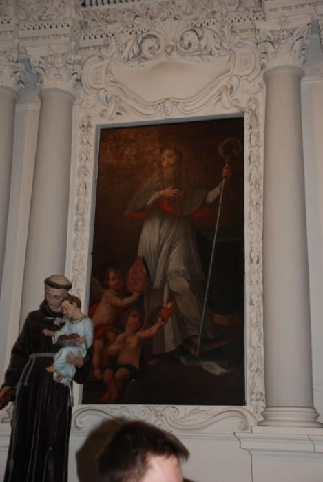 Wart pałac Paca, a Pac pałaca.Kościół św.Piotra i Pawła w Wilnie.