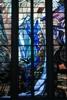 Witraż św.Barbary w Polskiej Misji Katolickiejw Anglii i Walii