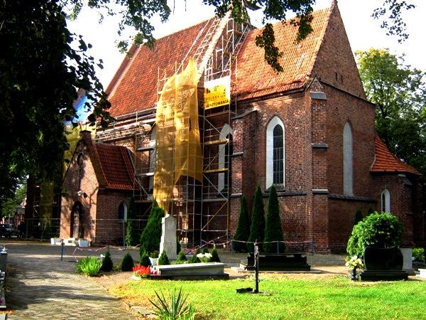 Organy mistrza Ladegasta – serce głuszyńskiej świątyni.