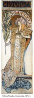 Wystawa prac Alfonsa Muchy w Muzeum Narodowym.w Warszawie