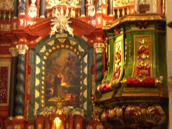 Kościół św. Antoniego – świadectwo kunsztu czeskichartystów.