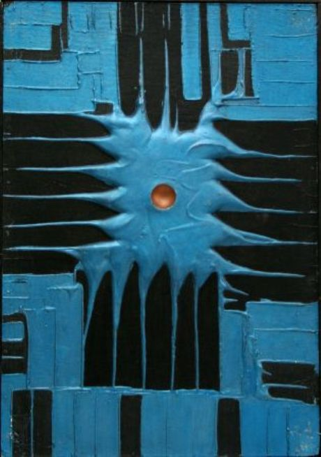 Kamienie zatopione w farbie –eksperymenty artystyczne JanaZiemskiego