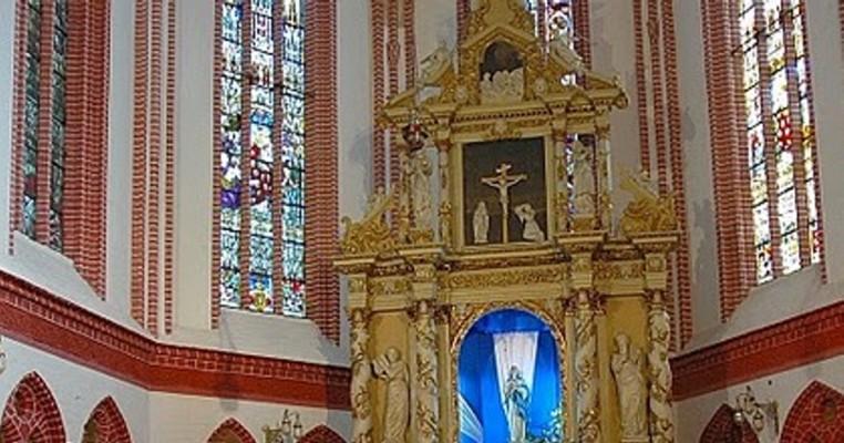 Witraże kościoła w Bialogardzie
