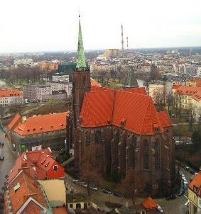 Kościół św. Krzyża i św. Bartłomieja we Wrocławiu – dwupoziomowa świątynia owiana legendą