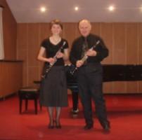 Klarnetowe szczebiotanie – duet klarnetowy Hebe