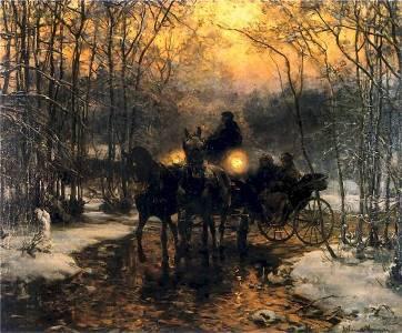 Alfred Wierusz-Kowalski – rzecz o malarzu, który zasłynął dzięki wilkom.