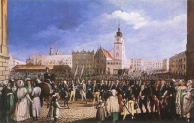 Dzieje Polski z architekturą Krakowa w tle – obrazy Michała Stachowicza.