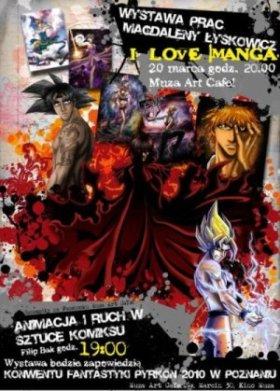 I love Manga!  – wernisaż prac Magdaleny Łyskowicz.