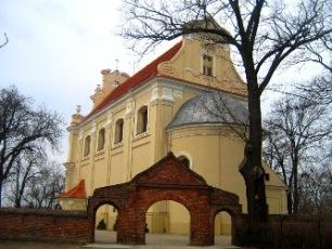 Barokowy kościół w Żerkowie.