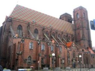 Katedra św. Marii Magdaleny we Wrocławiu.