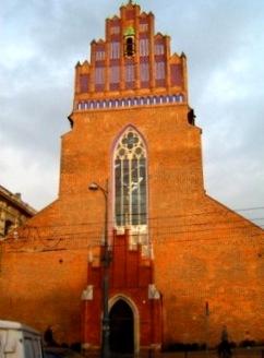 Kościół Bożego Ciała we Wrocławiu – dawna świątyniakawalerów maltańskich.