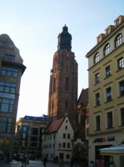 Bazylika św. Elżbiety we Wrocławiu.