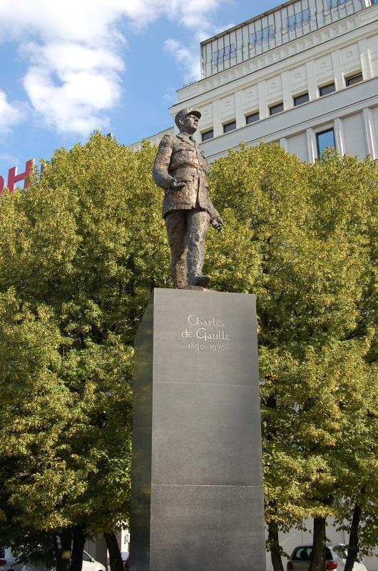 Pomnik Charlesa de Gaulle'a