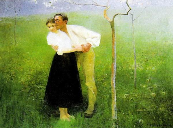 Pejzaże, portrety i scenki z życia chłopów– twórczość Wacława Szymanowskiego.