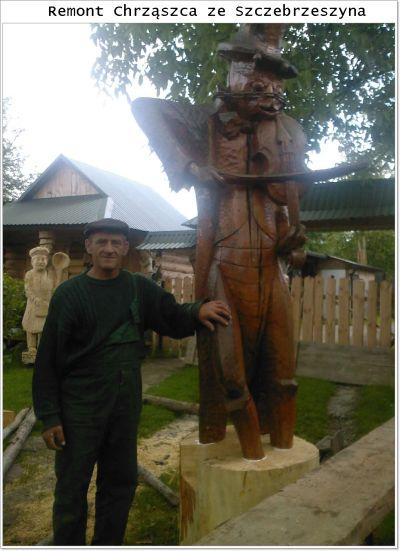 Rzeźbiarz dużych formatów z Roztocza Jan Kitka
